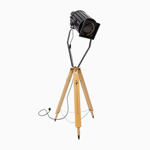 Industrial Spot Light Tripod Spotlight, 1960s