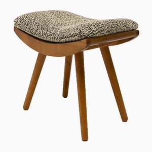 Mid-Century Stool or Footrest from ULUV, 1960s