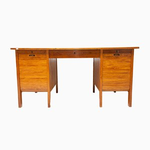 Functionalist Pedestal Desk, 1930s