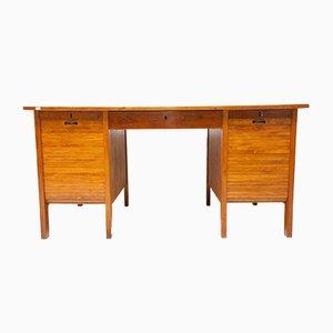 Funktionalistischer Säulen-Schreibtisch, 1930er