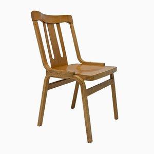 Esszimmerstühle aus Bugholz von TON, 1970er, 2er Set