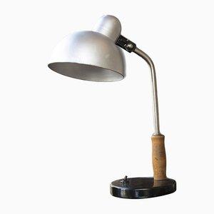 Lámpara de banquero Mid-Century, años 50