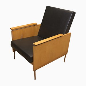 Mid-Century Czechoslovak Wooden Armchairs, 1960s, Set of 2