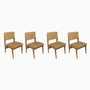 Mid-Century Swiss Teak Dining Chairs by František Jirák, 1960s, Set of 4