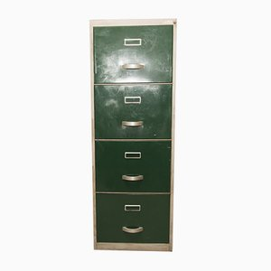 Industrial Italian Filing Cabinet from Sagsa, 1971