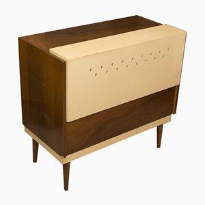 Mueble Mid-Century de nogal, años 70