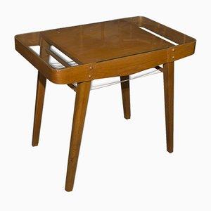 Table Basse Mid-Century en Chêne Verni, 1958