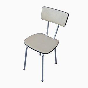 Chaises de Café en Skaï, 1960s, Set de 4