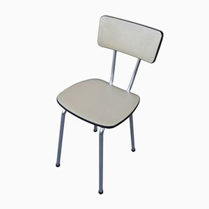Leatherette Cafe Chairs, 1960s, Set of 4