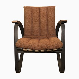 Bentwood Lounge Chairs by Jan Vanek for UP Závody, 1930s, Set of 2