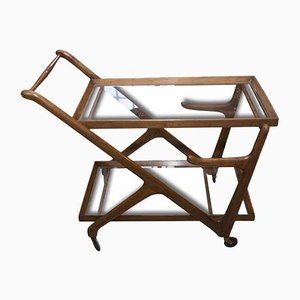 Mid-Century Italian Serving Trolley by Cesare Lacca