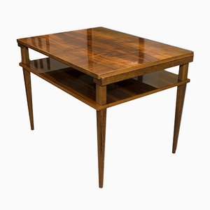 Vintage Czechoslovak Walnut Coffee Table, 1970s