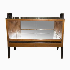 Czechoslovak Glazed Drinks Cabinet by Jindřich Halabala for UP Závody, 1930s