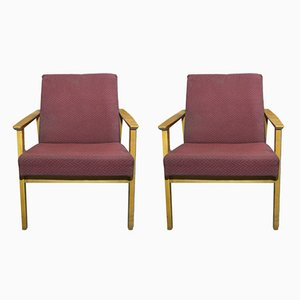 Mid-Century Armchairs from TON, 1960s, Set of 2