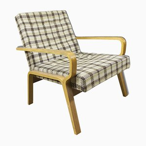 Mid-Century Czech Bentwood Armchair, 1960s