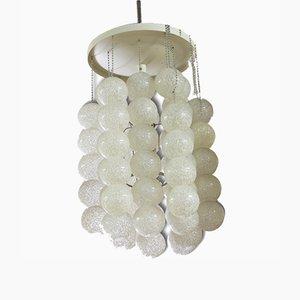 Lámpara colgante vintage en forma de burbuja, años 70
