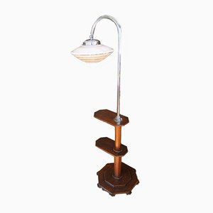 Lámpara de pie checa Bauhaus de Napako, años 30