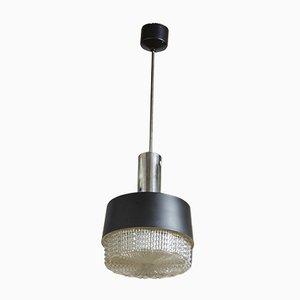 Lámpara colgante checa modernista, años 60