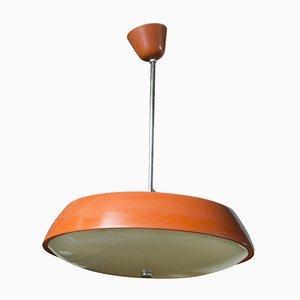 Lámpara colgante Mid-Century modernista de Josef Hurka