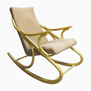 Rocking Chair Mid-Century en Bois Courbé de TON, 1960s