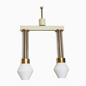 Tschechoslowakische Mid-Century Deckenlampe, 1960er
