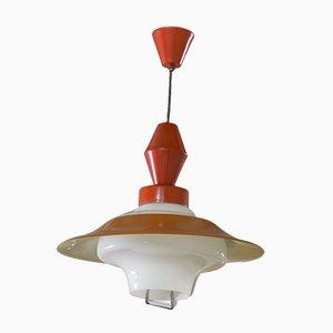 Lámpara colgante checa Mid-Century, años 60
