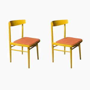 Mid-Century Dining Chairs from TON, Set of 2