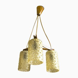 Lámpara de araña colgante Bloc del Este vintage