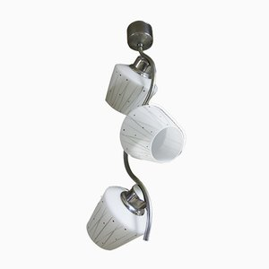 Bohemian Functionalist Pendant Lamp, 1930s