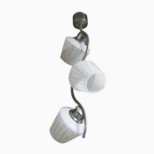 Lámpara colgante funcionalista bohemia, años 30