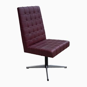 Chaise de Bureau Pivotante Vintage, 1960s