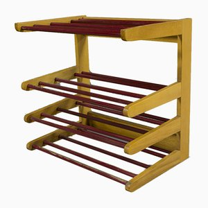 Vintage Wall Shelf or Shoe Rack, 1960s