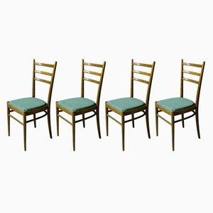 Chaises de Salle à Manger de TON, 1960s, Set de 4