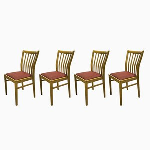 Vintage German Dining Chairs, 1970s, Set of 4