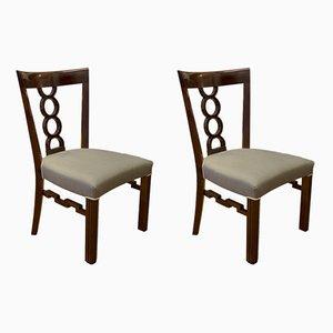 Antike österreichisch-ungarische Stühle, 1900er, 2er Set