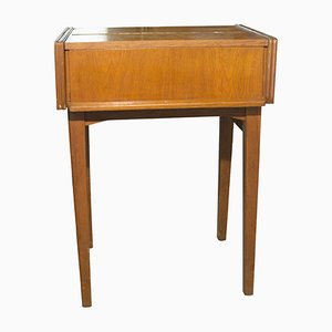Table d'Appoint Tchécoslovaque Mid-Century, 1950s