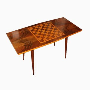 Mid-Century Czechoslovak Game Table, 1960s