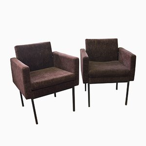 Mid-Century Modern Armchairs, 1970s, Set of 2