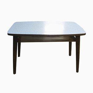 Vintage Czechoslvakian Formica & Elm Occasional Table, 1970s