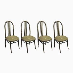 Mid-Century Esszimmerstühle, 4er Set