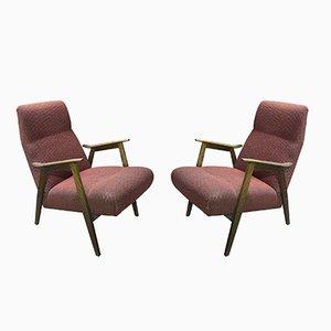 Mid-Century Armchairs, Set of 2