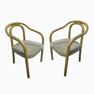 Mid-Century Czech Bentwood Chairs from TON, 1960s, Set of 2