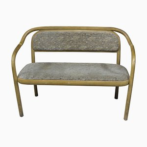 Mid-Century Czech Bentwood Bench from TON, 1960s