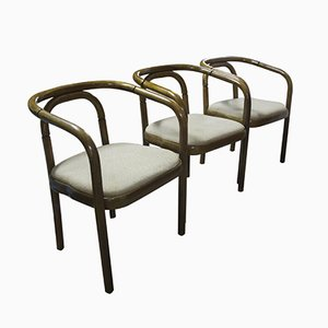 Mid-Century Bentwood Chairs by Tomáš Macek for TON, 1969, Set of 3