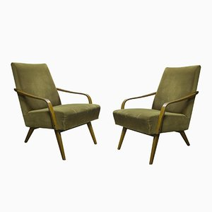 Vintage Occasional Armchairs, Set of 2