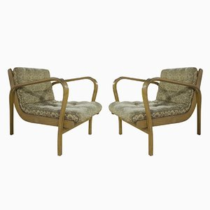 Mid-Century Chairs by Kropacek and Kozelka, Set of 2