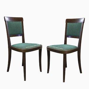 Chaises Art Déco, 1930s, Set de 2