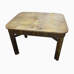 Mesa plegable Art Déco, años 30