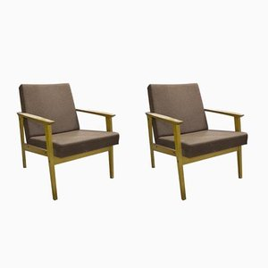 Occasional Armchairs from TON, 1960s, Set of 2