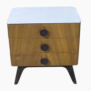 Vintage Nachttisch von Jindřich Halabala